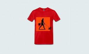 T-Shirt mit Chichiwawa-Motiv